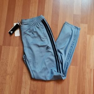 Adidas tiro 17 training soccer pants blue gray